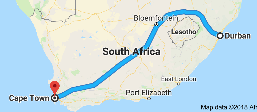 Cape Road Trip Part One Durban To Graaff Reinet 23 25 October 2018 Travels With Verne And Roy